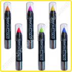 Crayon corporel qui brille dans le noir