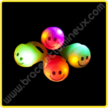 Bague Led Smiley (1 u.)
