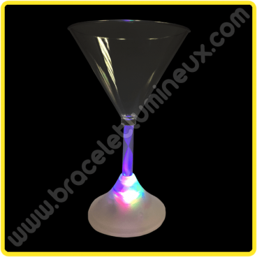 Coupe de Martini Lumineuse