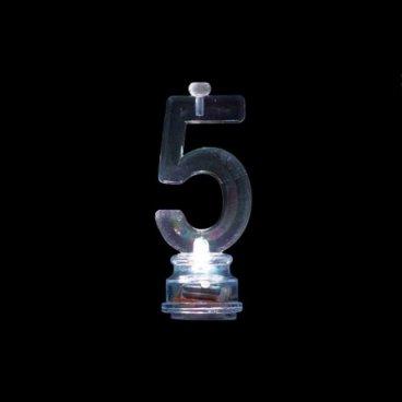 4 Bougies avec 5 Clignotant