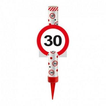 Bougie Fontaine Numéro 30