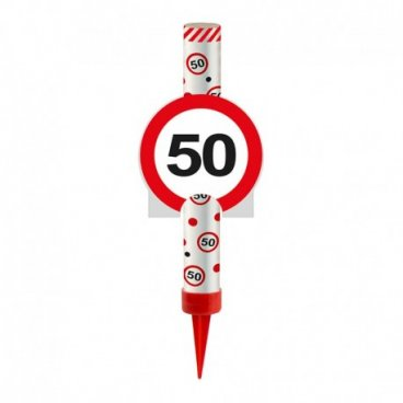 Bougie Fontaine Numéro 50