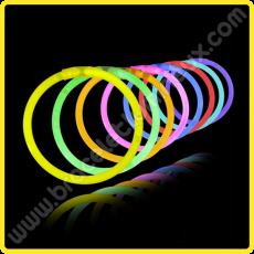Pulseras Fluorescentes Unicolor