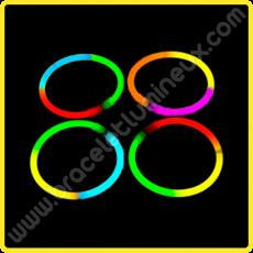 Bracelets Lumineux Tricolores (100 u.)