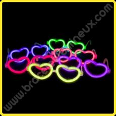 Lunettes Lumineuses Coeur à l' engros (50 u.)