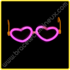 Lunettes Lumineuses Coeur Individuelles