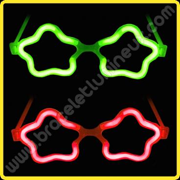 Lunettes Lumineuses Étoile (50 u.)