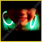 Boucles d'oreille Lumineuses Arrondie