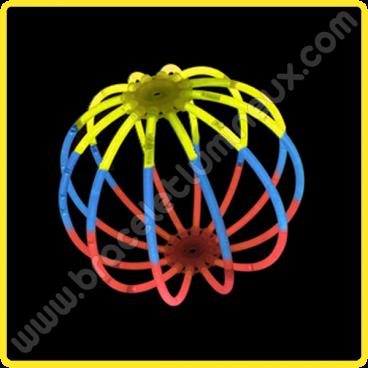 Sphères Lumineuses Tricolores (8 u.)