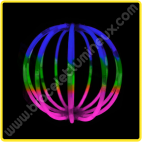 Sphères Lumineuses Tricolores