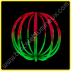 Sphères Lumineuses Bicolores