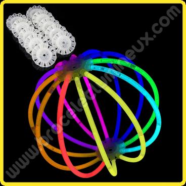 Sphères Lumineuses Unicolores (8 u.)