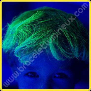 Gel Fluo pour Cheveux