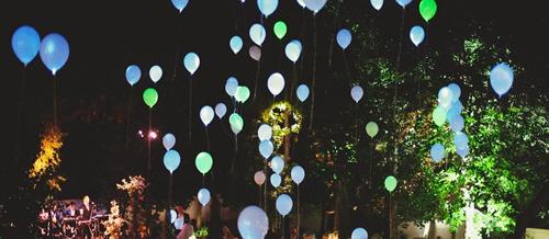 ballon phosphorescent mariage - Ballon Phosphorescent Mariage